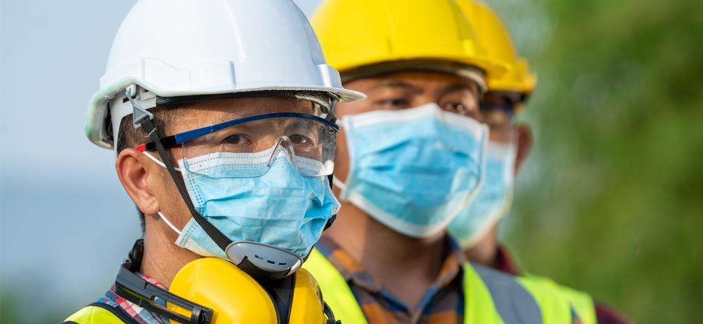 Le port du masque au travail
